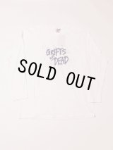 GRIFT NOT DEAD LONG SLEEVE T-SHIRT WHITE L